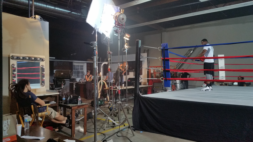 Green screen cyc film locations los angeles for Kitchen set los angeles